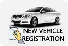NEW VEHICLE REGISTRATION CAR