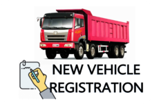 NEW VEHICLE REGISTRATION TRUCK