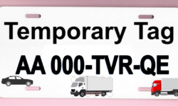 temporary tag CAR