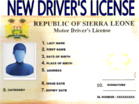 NEW DRIVERS LICENSE