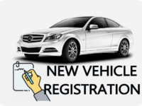 NEW NEW VEHICLE REGISTRATION