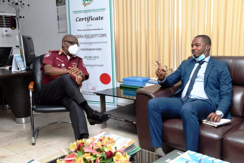 SLRSA Executive Director Strengthens Bilateral Ties With FRSC In Nigeria